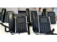 Polycom vvx400 voip colour screen phone x 5