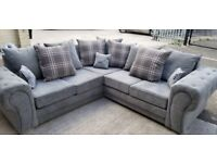 BRAND NEW VERONA CHESTERFEILD CORNER OR 3+2 SEATER SOFA SET AVAILABLE IN STOCK ORDER NOW