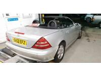 2003 mercedes slk 230 kompressor auto 73k mls only!! Long mot lady owned summer ready sexy car barg