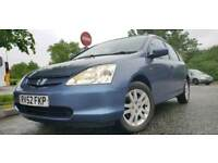 Honda Civic automatic 1.6 leather interior 07903496696