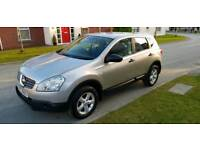 2008 NISSAN QASHQAI 1.6 VISIA, ONLY 95K, FULL MOT, EXCELLENT CONDITION! (Not ford' Vauxhall)
