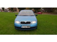 SKODA FABIA CLASSIC 1.4 PETROL LOW MILEAGE..HPI CLEAR..DRIVES EXCELLENT.