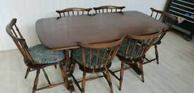 Attractive Ercol Dining Suite