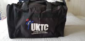 UKTC taekwondo sparing gears and bag