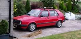 1991 MK2 VW Volkswagen Golf 1.3 Ryder