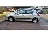 2008 Peugeot 308 1.6 HDi S 5dr Manual @07445775115