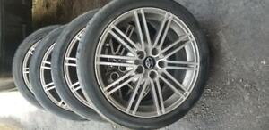 TOYOTA  CAMRY    OEM 18 INCH ALLOY WHEELS WITH HIGH PERFORMANCE NEXEN  225 / 45  /  18 ALL SEASON   TIRES