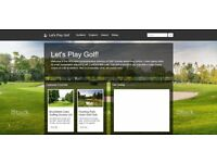 Looking for golf visitor website to be built!