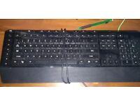 Microsoft Sidewinder X4 Red Illuminated USB Gaming Keyboard