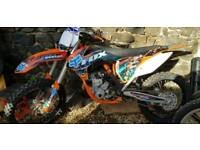 KTM 250sxf only 21 hours!!! Bargain