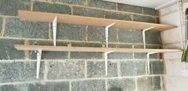 Shelving and brackets