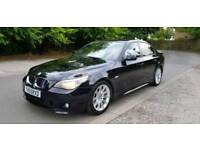 BMW 530D MSPORT AUTOMATIC 2005 55 REG TOP SPEC REMAPPED