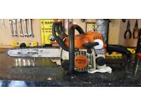 Stihl MS 170 chainsaw spares/repairs