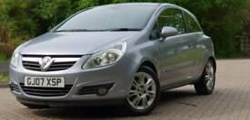2007 Vauxhall Corsa 1.2 design. 12 months mot. 49000 miles