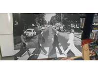 Beatles photo canvas