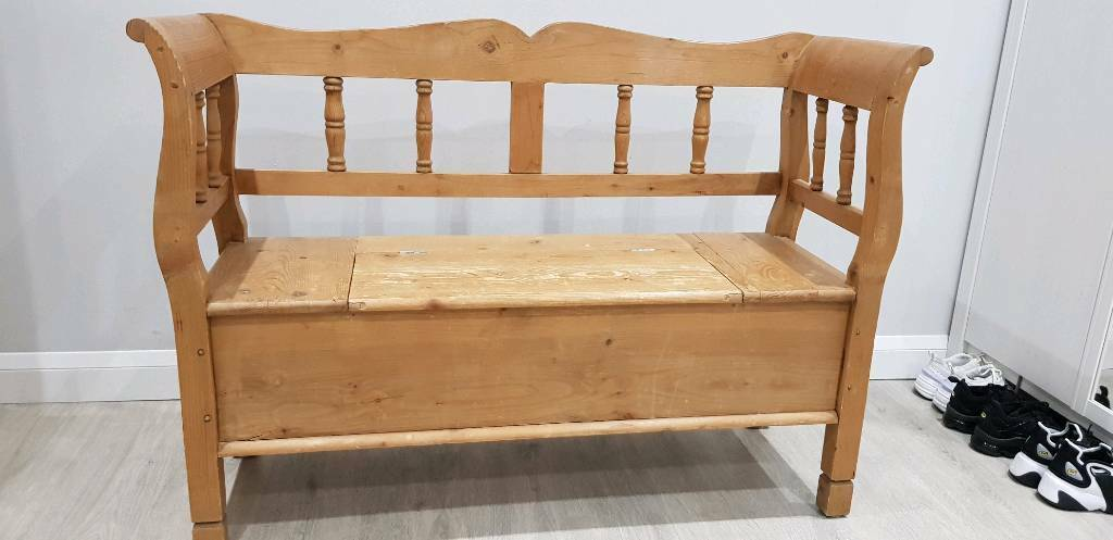Tremendous Church Pew Style Bench In Eastleigh Hampshire Gumtree Caraccident5 Cool Chair Designs And Ideas Caraccident5Info