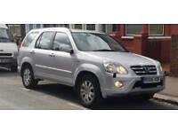 Honda CRV Automatic 2006. Metallic Silver. Executive. Leather seats. Honda Navigation system.
