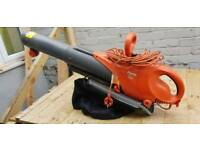 Flymo Garden Leaf Blower and Vacuum Hoover Scirocco