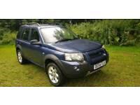 2004 land rover freelander 1.8 petrol manual