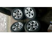 "16"" Mercedes Alloys Wheels C E Class W204 W214 W207"