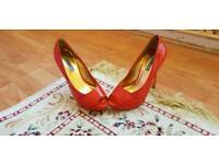 Ted Baker UK size 5 red heels