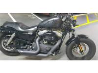 Harley Davidson Sportster 48 like new amazing