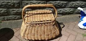 Fishing basket - wicker