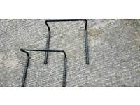 Bicycle wall racks