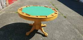 Wooden Poker / Dining table
