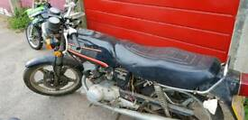 Honda cb125t 1981 project