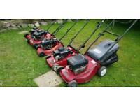 Petrol lawnmower mower job lot mountfield