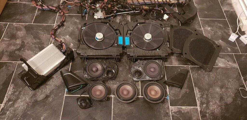BMW 5 SERIES F11 HIFI AUDIO SYSTEM AMPLIFIER SPEAKERS SUBWOOFERS | in  Norwich, Norfolk | Gumtree