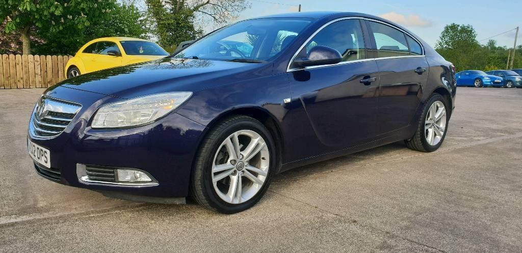 2012 vauxhall insignia exclusive cdti eco ss