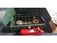 Coleman Dual Fuel cooker