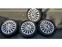 "Ford fiesta titanium 16"" alloys wheels"
