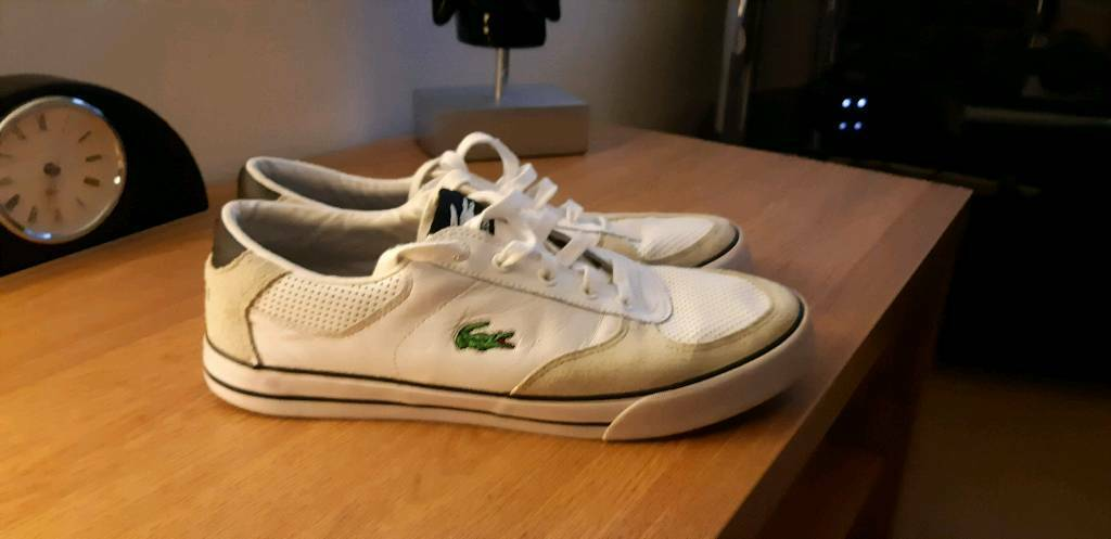 09059dd12 Lacoste sport trainers size 8
