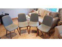 Set of 4 Next Kenton Chairs