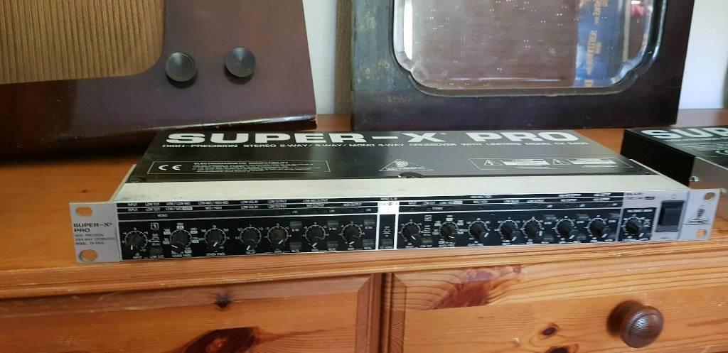 Behringer Super X Pro Audio CX 3400 Signal Processor