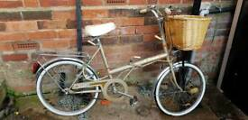 2 STOW AWAY 1980s folding bikes for sale