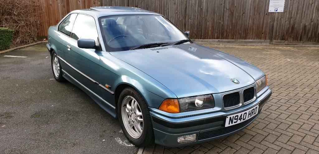 Bmw 3 Series E36 328i Coupe Morea Green In London Gumtree