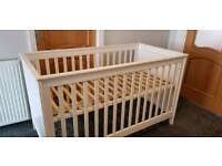 Silver cross cot/toddler bed