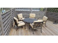Jamie Oliver FirePit & Grill Table & Chair Set