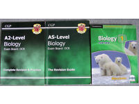 Biology A/S and A2 Level text books