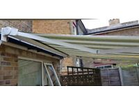 Patio Awning (motorised, full cassette)