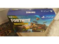 PS4 Slim Console 500gb with Fornite brand and unopened