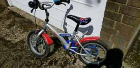 Boys bike suit 3 - 5 year old