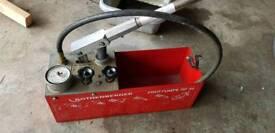 Rothenberger rp50 pump,CID cutting discs all new