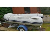 3.1m Waveline Rib with trailer + 5hp Yamaha outboard