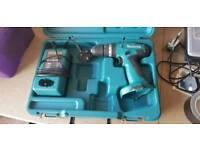 Makita cordless drill and charger