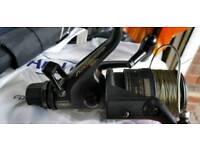 Shimano aero 4000 xt.7 baitrunner reel